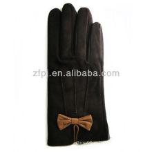 Nuevo guante arrial del conductor del ante de las señoras 2013