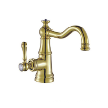 YL5874-22A High quality Fashion Brass chrome bathroom water wash basin faucet