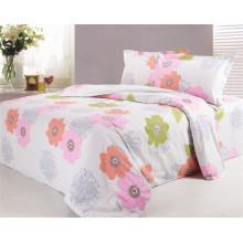 100% algodão tecido de folha de cama