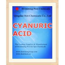 Sustancias químicas de la piscina del estabilizador de ácido cianúrico CAS no 108-80-5