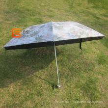 Lady Fashion fleur imprimé 4-pliage parapluie (YSF4008B)