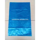 Dark Blue Color Plastic HDPE Flat Poly Bag