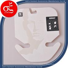 Étiquette de Paer de carton de Tickness 2mm faite sur commande pour l'écharpe / bijoux