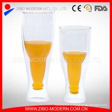 Vente en gros de bière en verre / tasse de verre à bière / 350ml 450ml Steins à bière