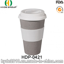 450ml Biodegradable BPA Free Bamboo Fiber Coffee Cup (HDP-0421)