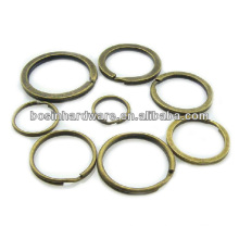 Top Quality Metal Rings DIY Antique Brass Split Key Ring