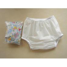 Adulte bébé Sissy imperméable en plastique pantalons couvre-couche