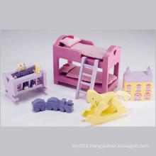 Mobilier de jouet en bois Mobilier de chambre pour bébé Jouets
