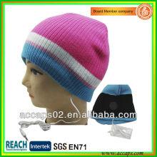 Top popular head phone beanie atacado BN-0035