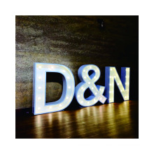 Large Lighted Up Love Bulb Letters Signs marquee tent wedding channel letter giant letter mold