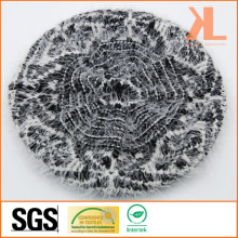 100% Acrylic Feather Yarn Knitted Beret