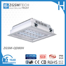 80W LED Gas Station Lamp with 5 Years Warranty