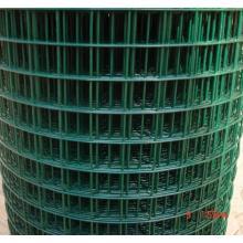 PVC revestido em malha de arame soldada verde