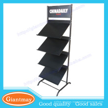 collapsible brochure holder racks free standing