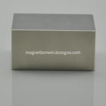 N38M Strong sintered NdFeB block cube magnet