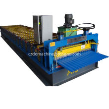 Aluminium roofing sheet corrugating machine