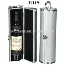 Etui de vin en aluminium de haute qualité pour une seule bouteille usine