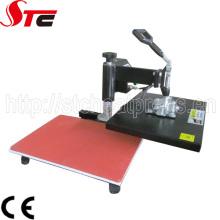 Качая головой ручной печатный станок для сублимационной печати на текстиле