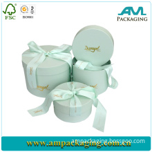 Custom Round Cardboard Chocolate Box Manufacturer