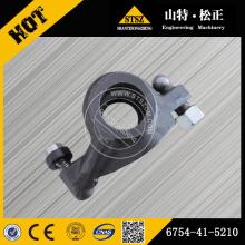 Komatsu excavator spare parts komatsu PC200-8 intake arm 6754-41-5210