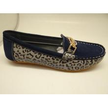 Lates Frauen Freizeit Leder Schuhe Casual Leder Schuhe (SF0016)