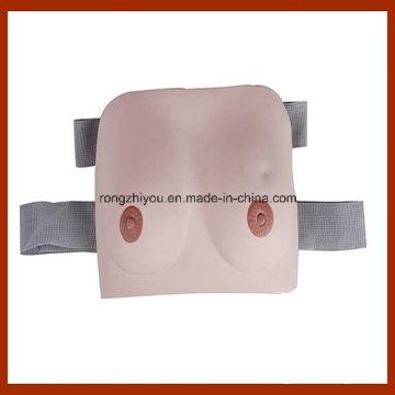 Modelo de autoinspección de mamas ponible