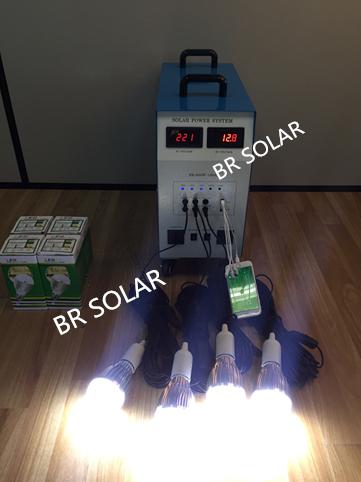 600W Solar Home System 3