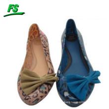 latest model slip-on waterproof flat shoes for lady
