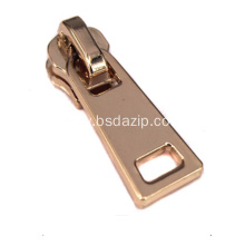 Brass Metal Lock Slider for 20 Inch Zipper