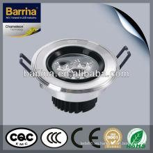 9W de disipación de calor excelente BSL090L abajo foco interior de led