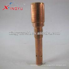 Soporte de punta de contacto de antorcha Co2 / mig / soporte de punta de contacto de latón