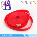 Resistant to Mildew and Rought PVC coated webbing plastic Vinyl covered webbing