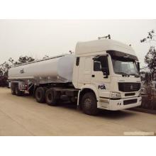 HOWO marca trator reboque tanque de combustível de China 55000liters