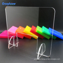 Clear transparent acrylic sheet office barrier protector