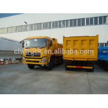 Alta calidad dongfeng 8x4 cilindro hidráulico volquete