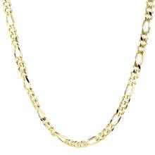 Mode Dubaï Bijoux 14K Gold Filled Plaqué Long Neck Chaîne En Acier Inoxydable Collier Nouvelle Chaîne En Or Conception Pour Les Hommes