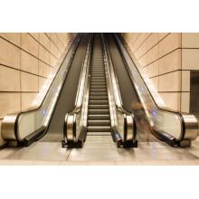 XIWEI Brand Escalator Automatique Automatique à Vitres VVVF de 35 degrés pour Airport Shopping Mall