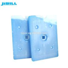 pcm grande plástico reutilizável freezer pacote de gel de gelo