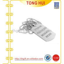 Papier personnalisé tag collier de chien fabricant imitation bijoux