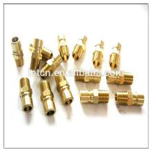 Fabricación China cobre torneado piezas
