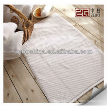 wholesale anti slip floor mats 100% cotton