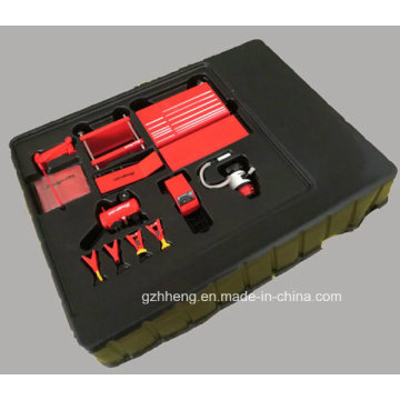 Bandeja plástica personalizada para ferramentas (bandeja de PVC)