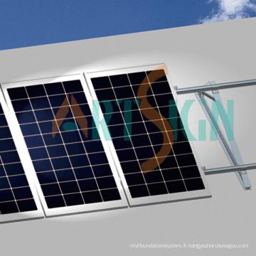 Toit plat Montage Montage de toit PV solaire système solaire