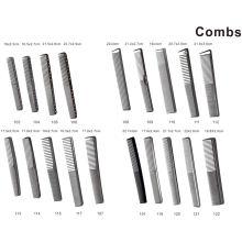 Pente de cabelo simples com comprimento de escala para corte de cabelo