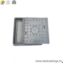 En124 Couvercle de trou d'homme en polymère composite D400
