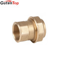 LB Guten top 2 inch brass O-Ring compression brass fittings for water pipe for pex-al-pex pipes