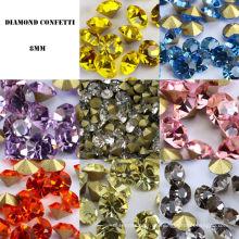 Diamante de acrílico de fondo afilado