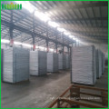 temporary steel fence panel with brace