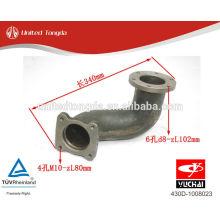 Motor YUCHAI YC6108-430 Después del tubo de escape de la turbina 430D-1008023