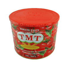 Tomato Paste Made of Fresh Vegetables
